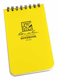RTR MSP135 - Rite in the Rain Pocket Memo Books - Shirt (100 pages) - MSP135